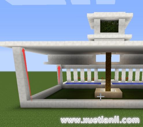 我的世界别墅建成教程