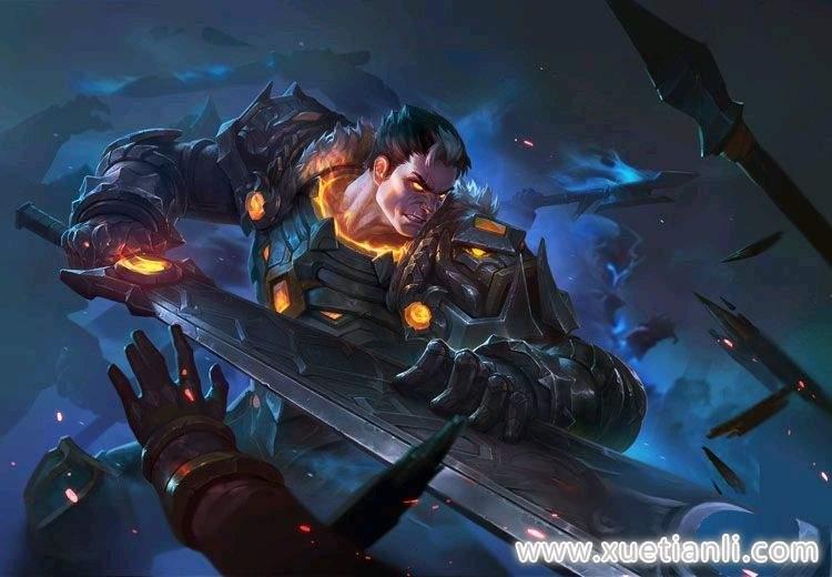 英魂之刃力量英雄死亡骑士技能介绍-技能加点