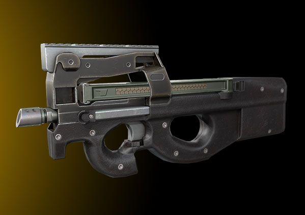 和平精英新枪首测-P90怎么玩
