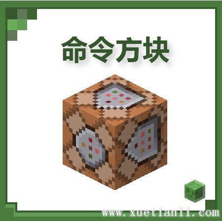 我的世界五种只能用命令得到的方块