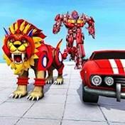 狮子变形机器人