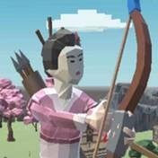 女弓箭手防卫战