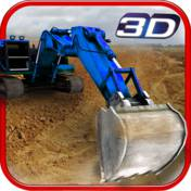 挖掘机操作员模拟